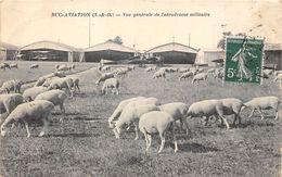 78-BUC- AVIATION- VUE GENERALE DE L'AERODROME MILITAIRE - Buc