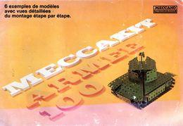 Meccano. Catalogue 11 Pages, Meccakit Armée, 6 Ex De Modèles + Nomenclature Des Pièces Meccakit Et Contenu Des Boites. - Autres Collections