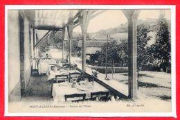 12 - PONT D'AGRES --  Balcon De L'Hôtel - Vabres