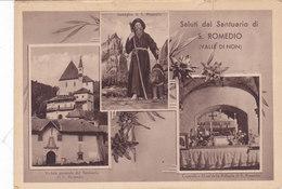 CARD COREDO SANTUARIO SAN ROMEDIO VEDUTINE VALLE DI NON (TRENTO ) -FG-N-2-082-27462 - Trento