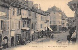 01-SEYSSEL- LA PLACE DE LA REPUBLIQUE - Seyssel