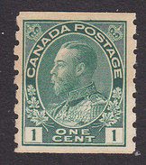 Canada, Scott #125, Mint Hinged, George V, Issued 1912 - 1911-1935 Reign Of George V