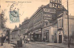 03-MONTLUCON- BOULVARD DE COURTAIS - Montlucon