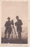 CARD  ALPINI ELIOGRAFISTI IN TRINCEA COMUNICANTI CON UNA BATTERIA DUE SCANNER  -FP-VSF-2-082-27467-68 - Weltkrieg 1914-18