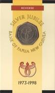 """Papua New Guinea 50 Toea 1998 """"Bank Of Papua NG"""" In Kit UNC - Papoea-Nieuw-Guinea"""