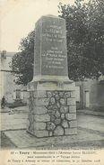 PIE 17-P Mo-4687 : TOURY MONUMENT  A L'AVIATEUR LOUIS BLERIOT - Altri Comuni