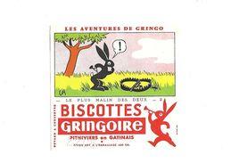 Buvard Biscottes Gringoire Les Aventures De Gringo - Alimentare