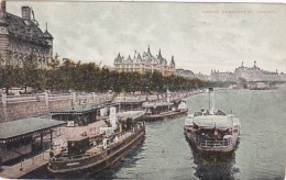 England London Thames Embankment 1906