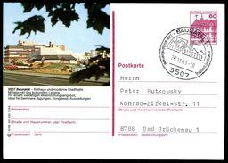 81779) BRD - P 138 - L6/88 - Ortsgleich OO Gestempelt - 3507 Baunatal, Rathaus - [7] West-Duitsland