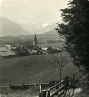Autriche Steiermark Styrie Altaussee Dachstein Ancienne Stereo Photo Wurthle 1900 - Stereoscopic