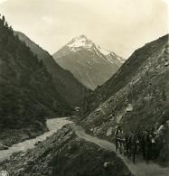 Autriche Tyrol Heil Kreuz Vent Terleitspitze Talleitspitze Ancienne Stereo Photo NPG 1900 - Stereoscopic