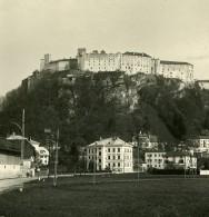 Autriche Salzbourg Forteresse De Hohensalzburg Ancienne Stereo Photo NPG 1900 - Stereoscopic