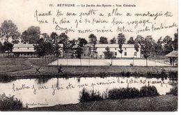 Béthune Le Jardin Des Sports - Vue Générale / 2 Scan - Bethune