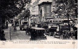 Paris Le Boulevard St-Denis Et La Porte St-Martin / 2 Scan - Arrondissement: 10