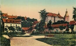 25 MONTBELIARD CHATEAU ET SQUARE RESENER - Montbéliard