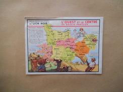 """L'OUEST ET LE CENTRE DU BASSIN PARISIEN EDITION SPECIALE DES PRODUITS DU """"LION NOIR"""" PARIS-MONTROUGE - Vieux Papiers"""