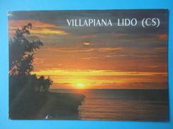 Villapiana Lido - Cosenza - Controluce - Tramonto Sul Mare - Controluce