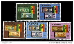 (318) Ethiopia / Ethiopie  Banknotes / Currency / Währung / 1988 ** / Mnh  Michel 1311-15  Rare / Scarce / Wanted - Etiopia