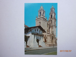 Postcard Mission Dolores The Old And The New San Francisco My Ref  B11593 - Missions