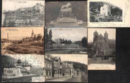 Trooz - Lot De 8 Cartes (animée, Précurseur, Gare, Ecole, Monument...voir Scans) - Trooz