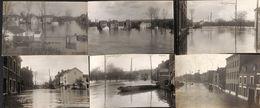 Tilleur - Lot De 6 Cartes Inondations (carte-photo) - Seraing