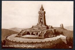 A5568 - Alte Ansichtskarte - Kyffhäuser - Denkmal Kaiser Wilhelm - Reichskriegerbund TOP - Kelbra