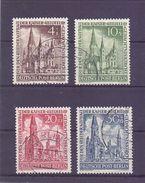 Berlin 1953 - Gedächtniskirche - Mi.Nr.106/109 Rund Gest. - Michel 230,00€ (530) - Used Stamps