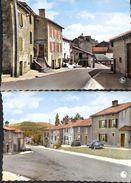 Torgny En Gaume - Lot 2 Cartes (Grand Rue, Rue Cavé, Animée, Oldtimern Colorisée) - Rouvroy