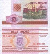 Belarus - 5 Rubles 2000 UNC - Belarus