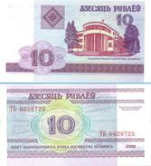 Belarus - 10 Rubles 2000 UNC - Belarus