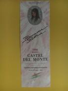 4652 - Baronessa Bettina Rosso 1986 Castel Del Monte Pouilles Italie - Etiquettes