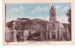 & Nemours - Place De L'église - Nemours