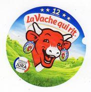 Aot17  12 AA 145   étiquette Vache Qui Rit  Jura  12 Portions - Käse