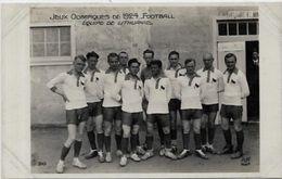 CPA Jeux Olympiques Paris 1924 Non Circulé AN N° 310 Football Lithuanie - Olympic Games