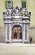 AK Salzburg - Portal Am Residenzgebäude (30002) - Salzburg Stadt