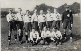 CPA Jeux Olympiques Paris 1924 Non Circulé AN N° 315 Football Pologne - Juegos Olímpicos