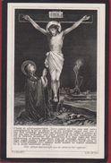 Joannes De Vos Brems Burgemeester Langdorp Aarschot Zichem Sichem  1838 1910 A. De Fr. Doodsprentje Image Mortuaire - Imágenes Religiosas