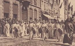 Brugge; Processie Van Het Heilig Bloed, Zingende Engelen Voor Den Wagen Van De Geboorte Van Christel (pk37841) - Brugge