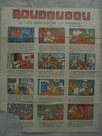 """Ancienne Publicité Papier """"Saponite La Bonne Lessive"""" BD Roudoudou - Advertising"""