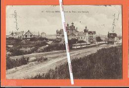 COQ-sur-MER  -  Arrêt Du Tram Vers Ostende  -  1923 - De Haan