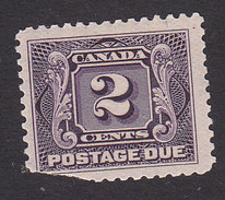 Canada, Scott #J2, Mint Hinged, Postage Due, Issued 1906 - Port Dû (Taxe)
