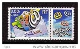FRANCE-2000-N° 3365** 3ième MILLENAIRE - France