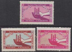 R278.-. SAUDI ARABIA  1963. SC#: 274-276 - MNG - AGAINS HUNGER - Arabia Saudita