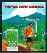 """Papua New Guinea     """"OYMPHILEX 2000""""    Souvenir Sheet    SC# 996  MNH** - Summer 2000: Sydney"""