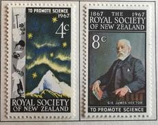 New Zealand  MH* 1967 - # 406/407 - New Zealand