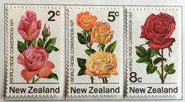 New Zealand  MH* 1971 - # 484/486 - New Zealand