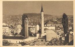 Sarajevo (Yougoslavie) - Panorama, Minaret - Edition Spéciale Chocolat Donat - Carte Non Circulée - Bosnia And Herzegovina