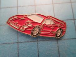 Pin2117 Pin´s Pins / Beau Et Rare : AUTOMOBILE / FERRARI ROUGE F40 - Ferrari