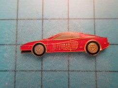 Pin2117 Pin´s Pins / Beau Et Rare : AUTOMOBILE / FERRARI ROUGE MODELE A IDENTIFIER - Ferrari