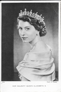 Her Majesty Queen Elisabeth II 1953 - Karsh Of Ottawa - Raphaël Tuck & Sons - Familles Royales